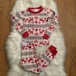 Hanna Andersson Christmas 2 piece set pajamas Sz 5